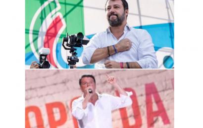 Renzi, Salvini molti nemici, molto consenso Alessandro Principali